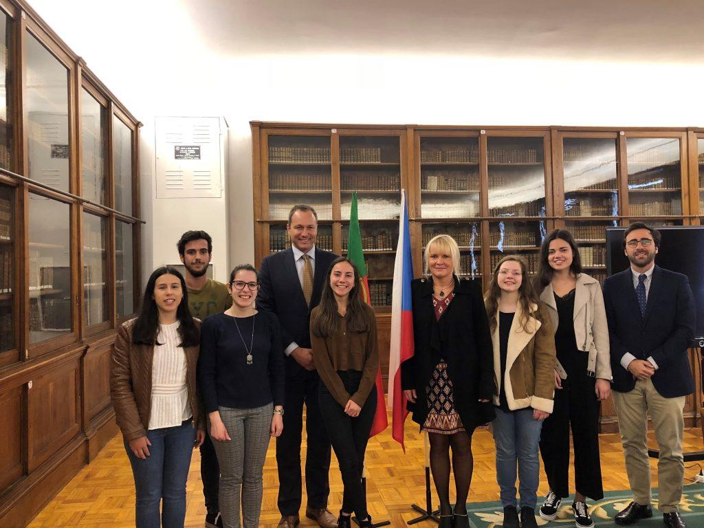 Encontro com estudantes  da Universidade do Porto