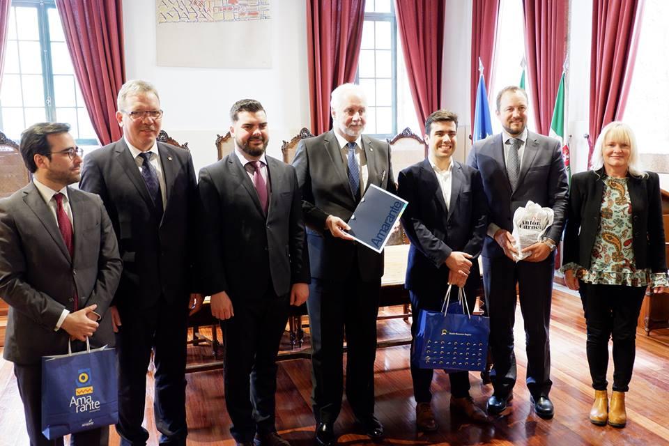 Delegação do Conselho Regional da Morávia do Sul visita a Região Norte