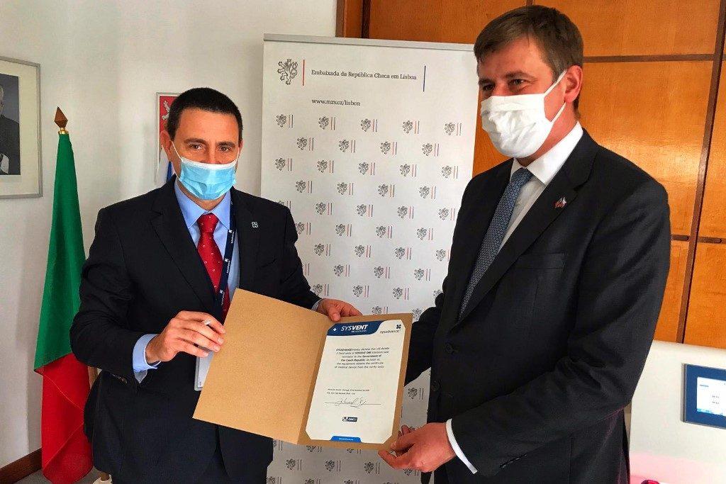 Visita do Ministro dos Negócios Estrangeiros Tomáš Petříček a Portugal